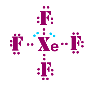 XeF4-lewis-dot-structure