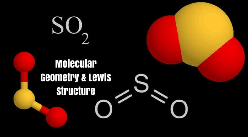 So2sulfur Dioxide Molecular Geometry Lewis Structure Geometry