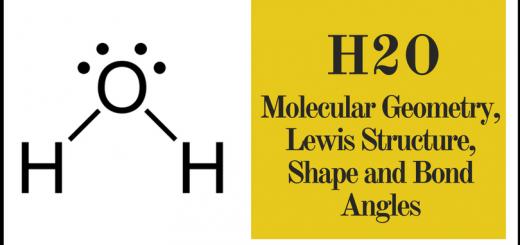 H2O Molecular Geometry
