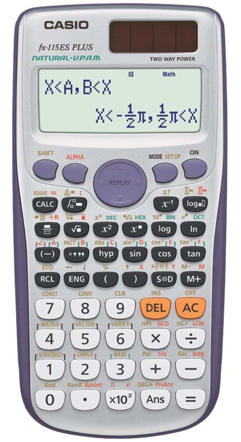 Casio – FX-115ES Plus