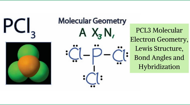 Pcl3 Molecular Electron Geometry Lewis Structure Bond Angles And