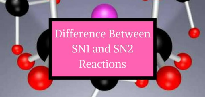 Difference between SN1 and SN2 reactions