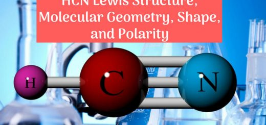 HCN lewis structure, molecular geometry, shape, and Polarity