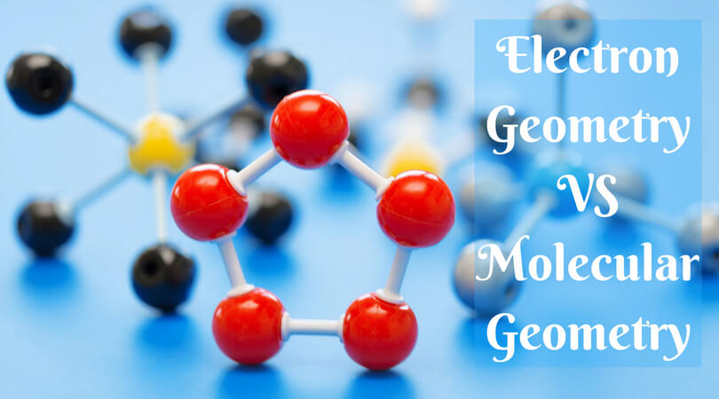 electron geometry vs molecular geometry