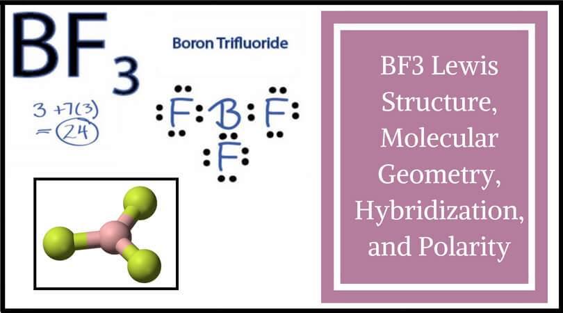 Ch3cl Electron Geometry And Molecular Shape: BF3 Lewis Structure, Molecular Geometry, Hybridization