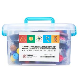 Molecular Model Kit with Molecular Structure