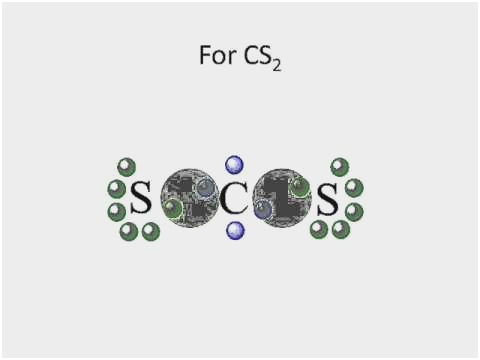 lewis dot diagram for cs2 Fresh CS2 lewis structure
