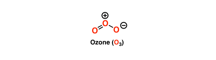 Ozone polarity