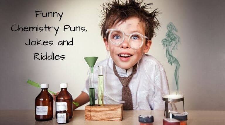 Funny Chemistry Puns, Jokes and Riddles