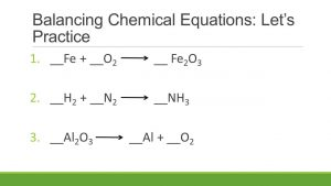 Equations and practicals