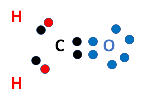 CH2O valence electrons