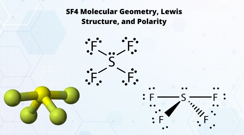 SF4 Molecular Geometry, Lewis Structure, and Polarity