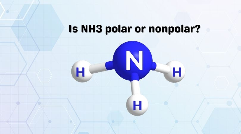 Is NH3 polar or nonpolar_
