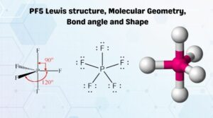 PF5 Lewis structure, Molecular Geometry, Bond angle and Shape