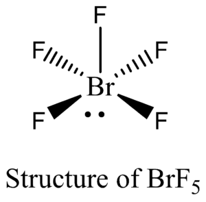 BrF5_structure
