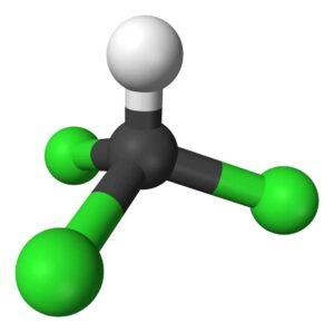 CHCl3-molecular geometry