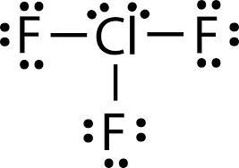 ClF3 Lewis Dot Structure