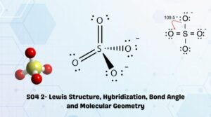 SO42- Lewis Structure, Hybridization, Bond Angle and Molecular Geometry