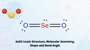 SeO2 Lewis Structure, Molecular Geometry, Shape and Bond Angle